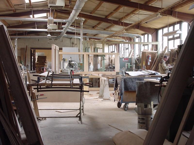 1999 - Bau der Austellungshalle
