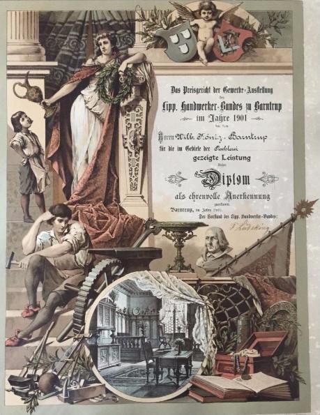 1875 - Gründung durch Willhelm König